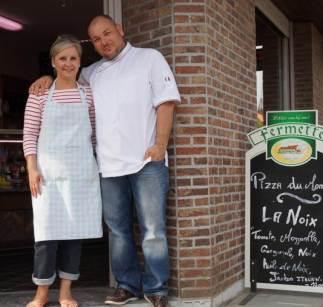 Charles et Angelique vos cuistots dévoués à Estaimpuis ! | Le Comptoir Gourmand à Estaimbourg